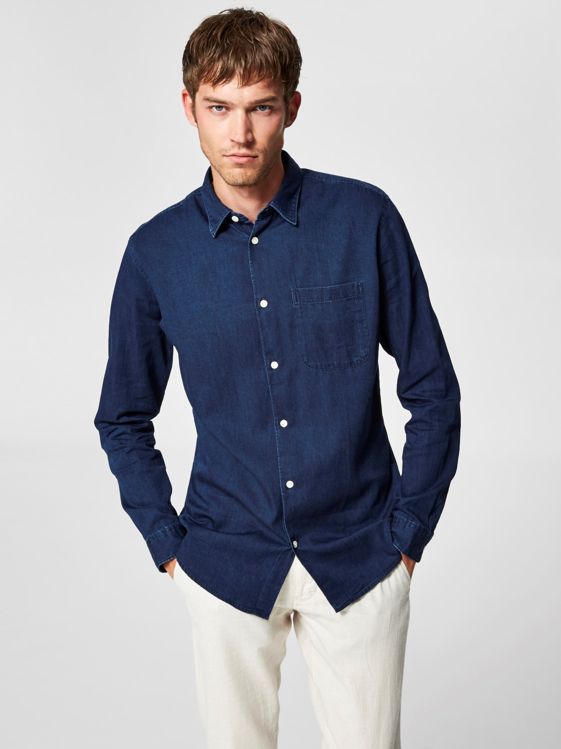 fceed4566f4 Slim Nolan Shirt by Selected Homme — Thread