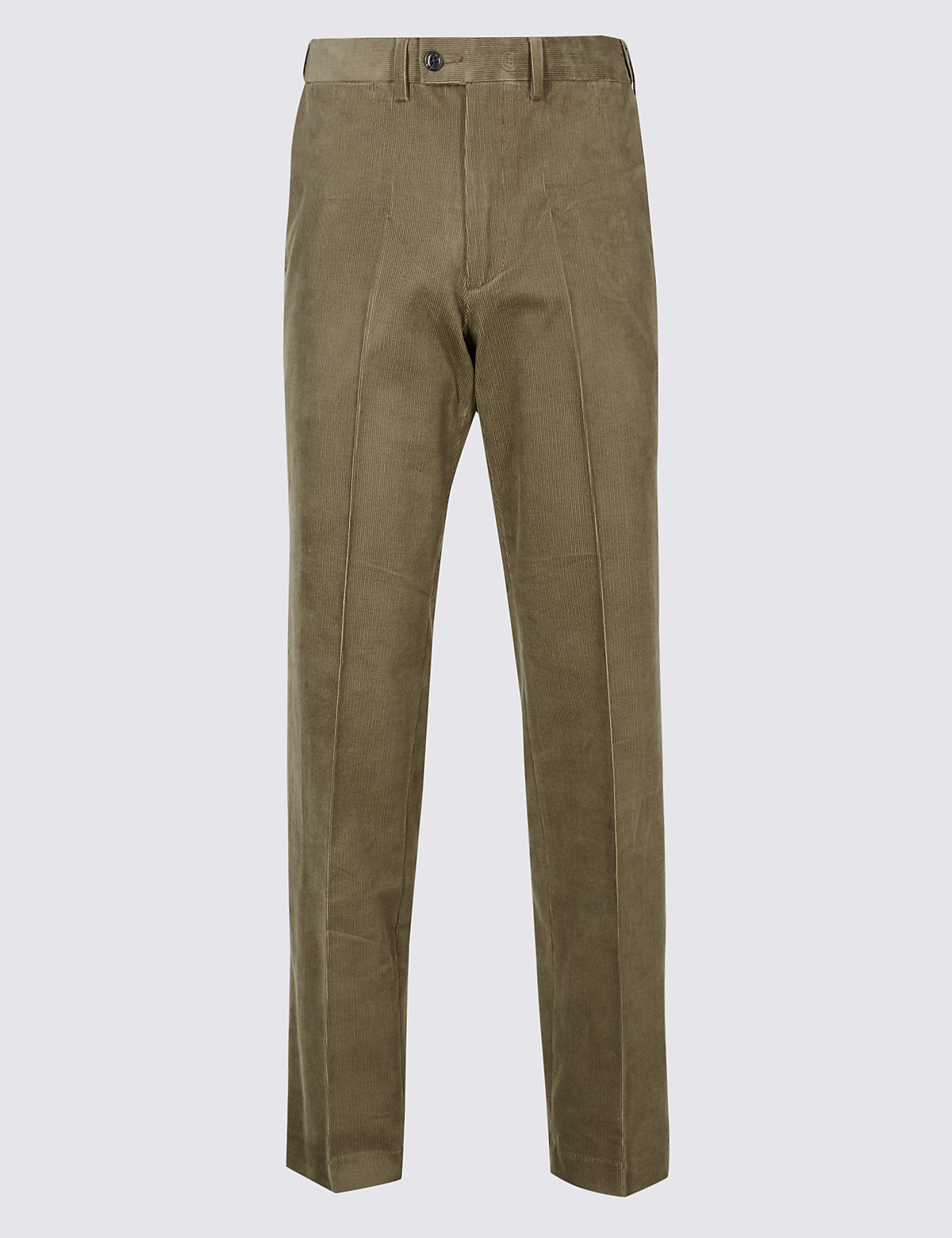 Marks & Spencer Mole Tailored Fit Cotton Rich Corduroy Trousers