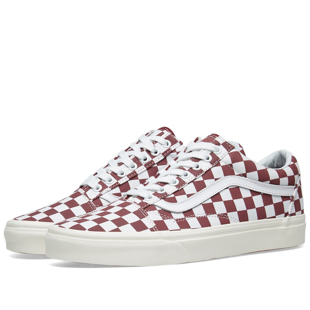 Vans Port Royale & Marshmallow Old Skool Checkerboard