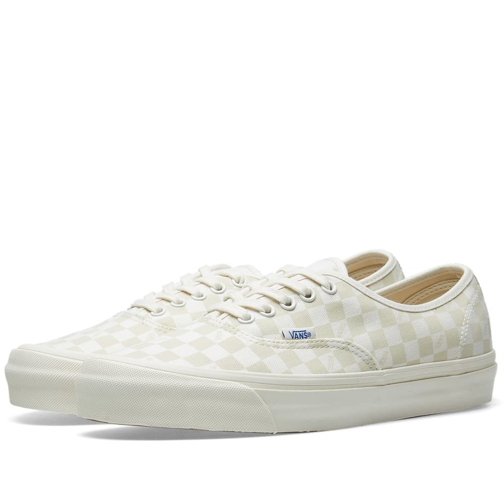Vans Checkerboard & Marshmallow OG Authentic LX