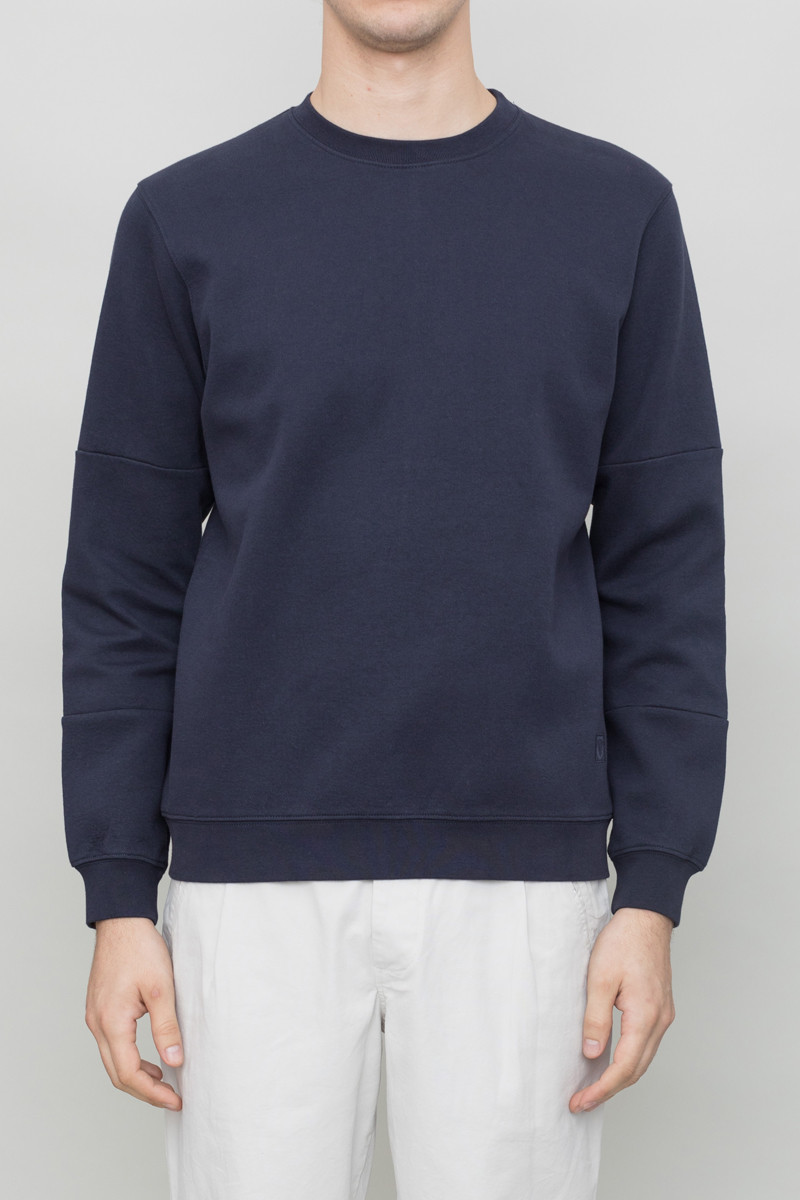 Folk Tech Sweat - Navy