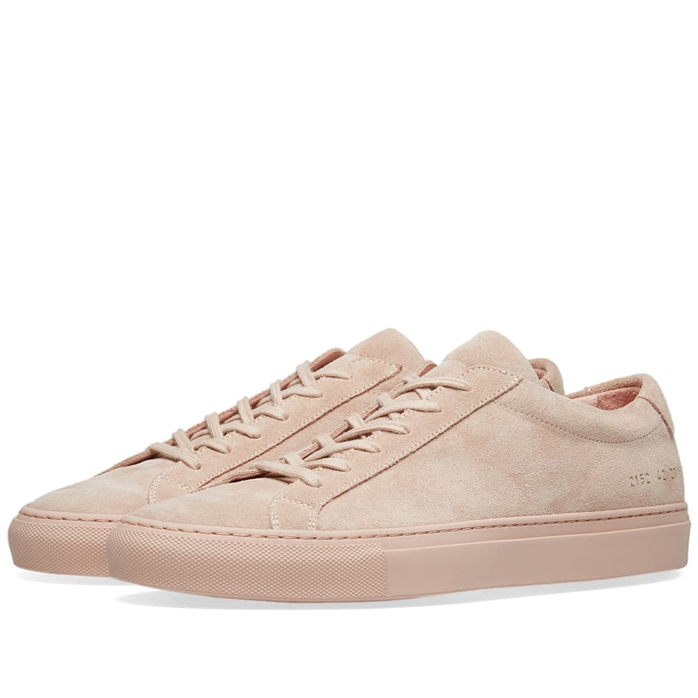 Common Projects Blush Original Achilles Low Suede