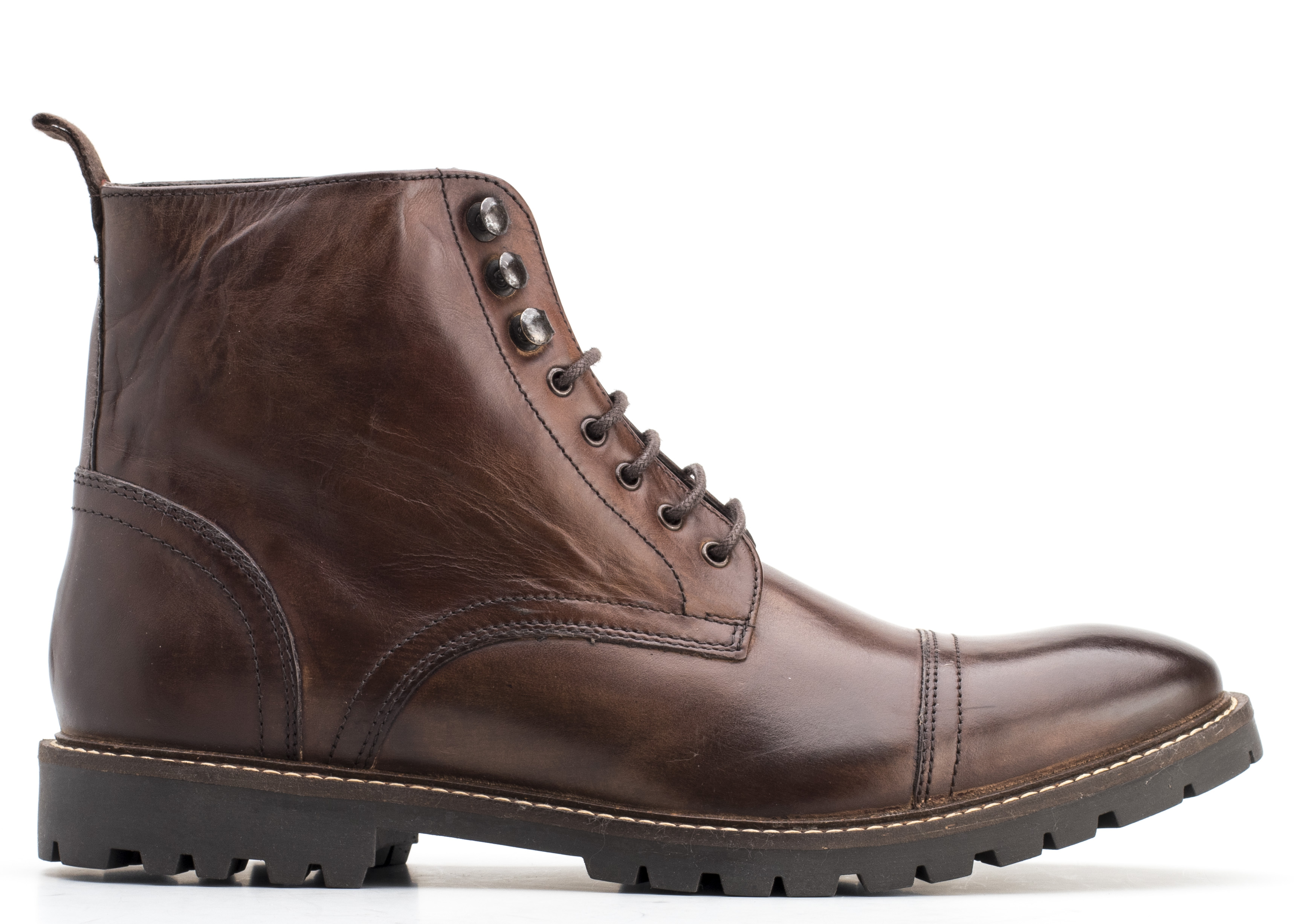 Base London BROWN Siege Washed Boots