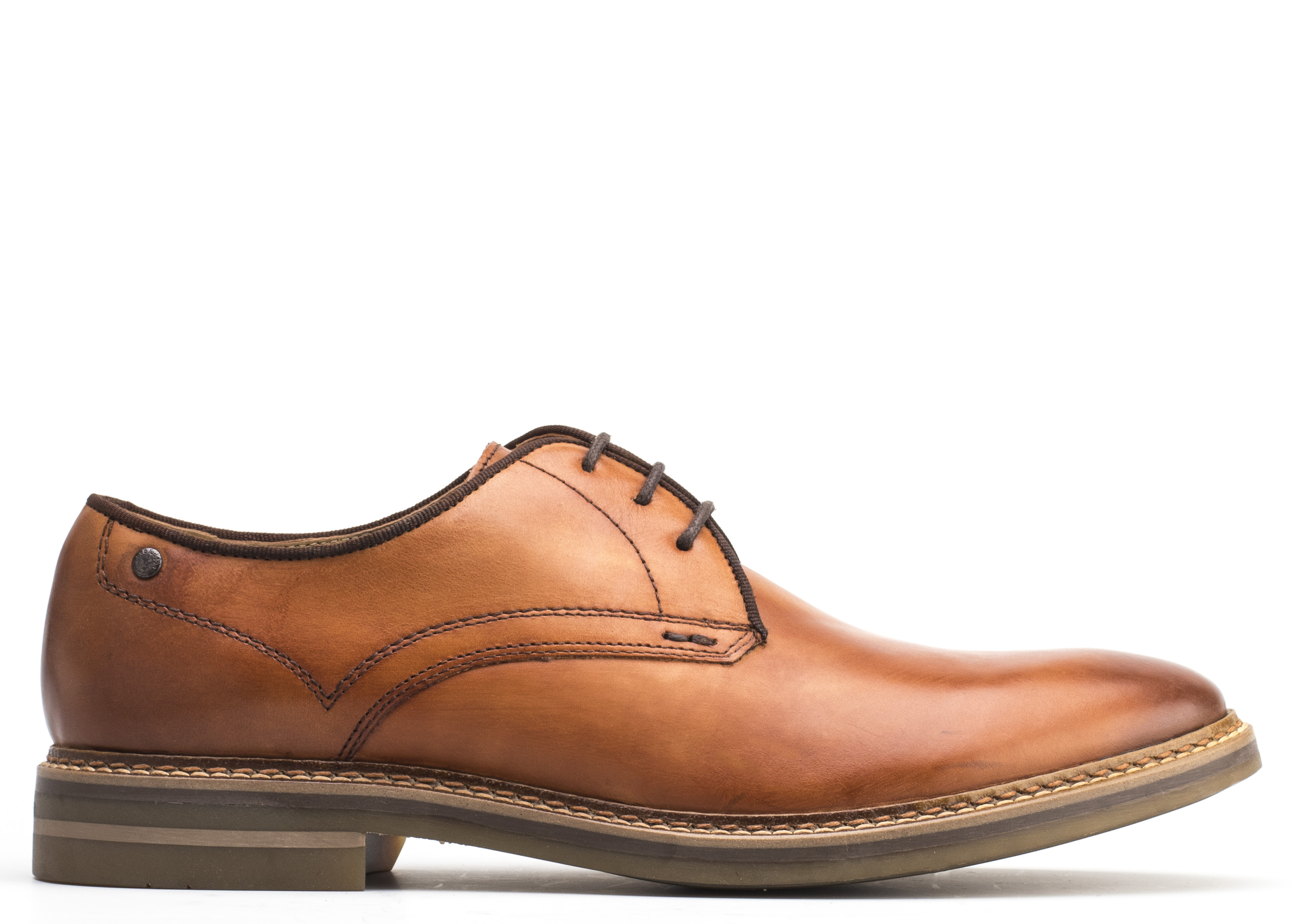 Base London TAN Blake Washed Shoes