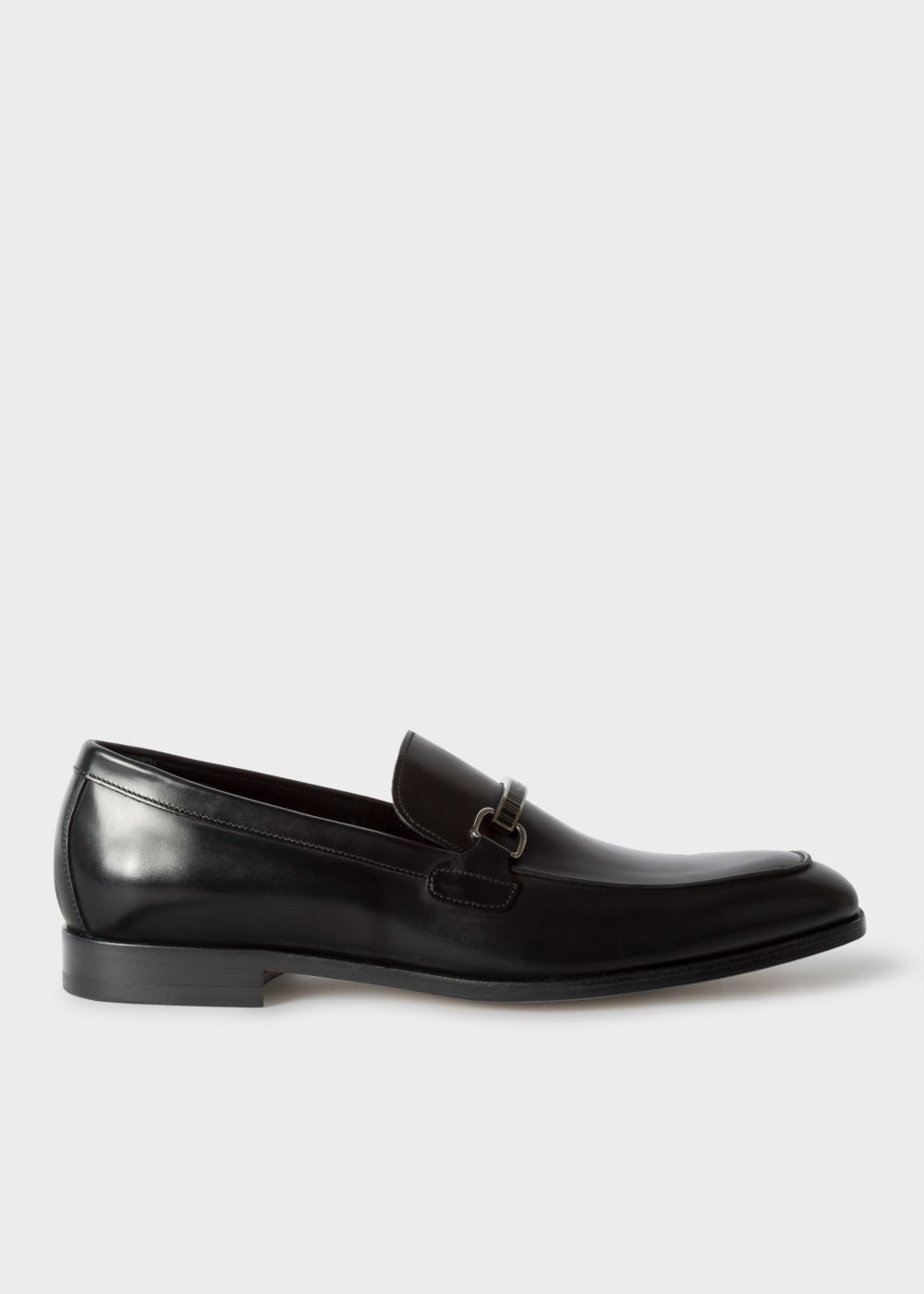 Paul Smith Men's Black Leather 'Grover' Loafers