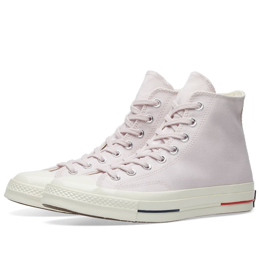 Converse Barely Rose, Gym Red & Navy Chuck 70 'Heritage Court'