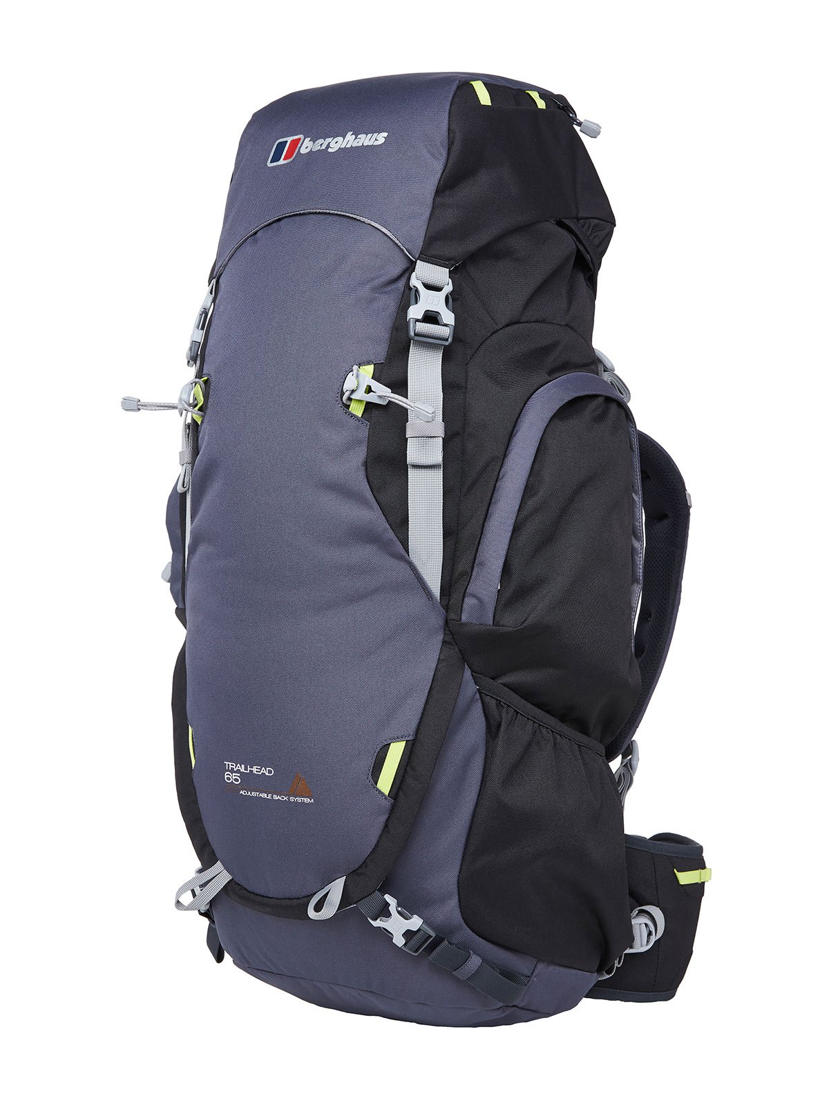 Berghaus Dark Grey / Black Trailhead 65 Rucksack