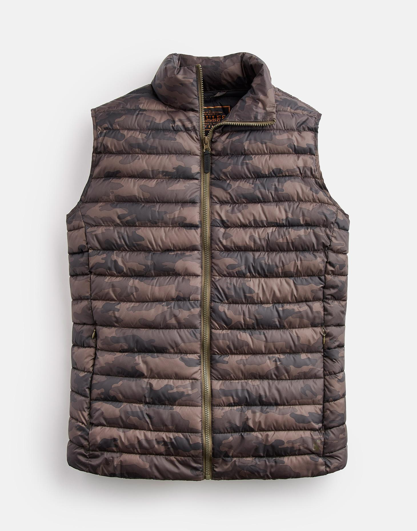 Joules CAMO Go To Lightweight Padded Gilet