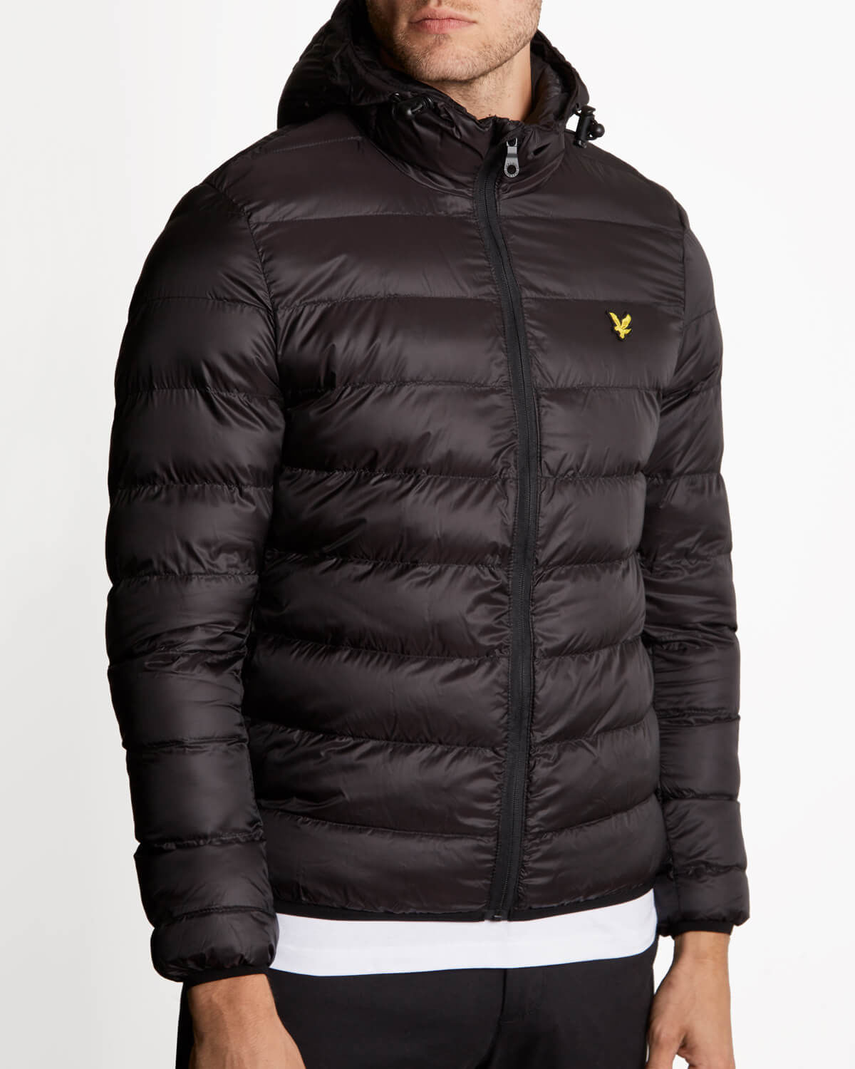 Lyle and Scott True Black Lightweight Puffer Jacket