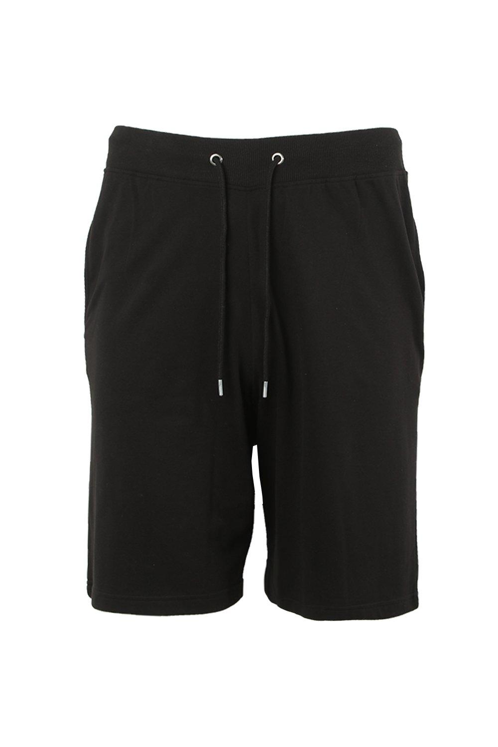 boohooMAN black Big And Tall Stripe Detail Shorts