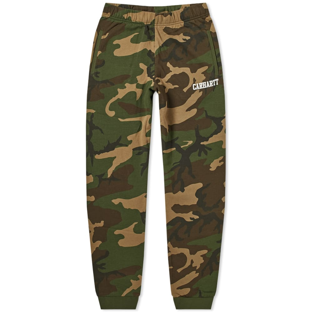Carhartt WIP Camo Laurel & White Carhartt College Sweat Pant