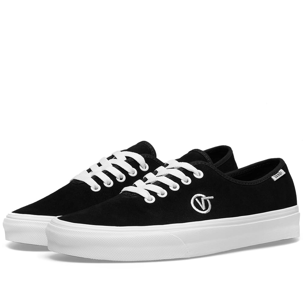 Vans Black Authentic One Piece Circle V
