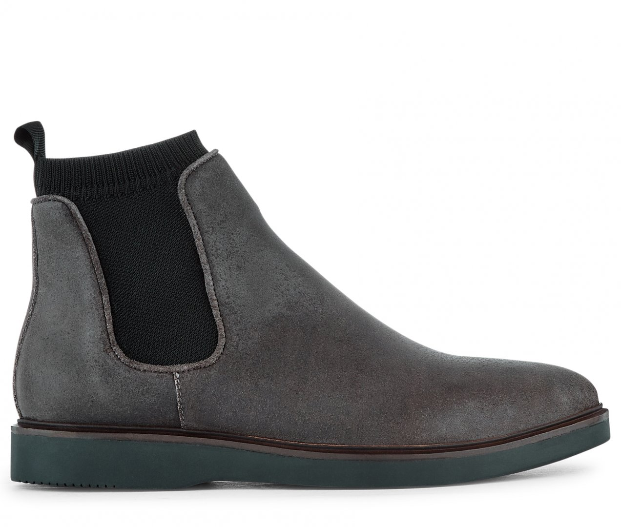 Hudson Shoes Grey Suede Brechin Suede Grey Boot