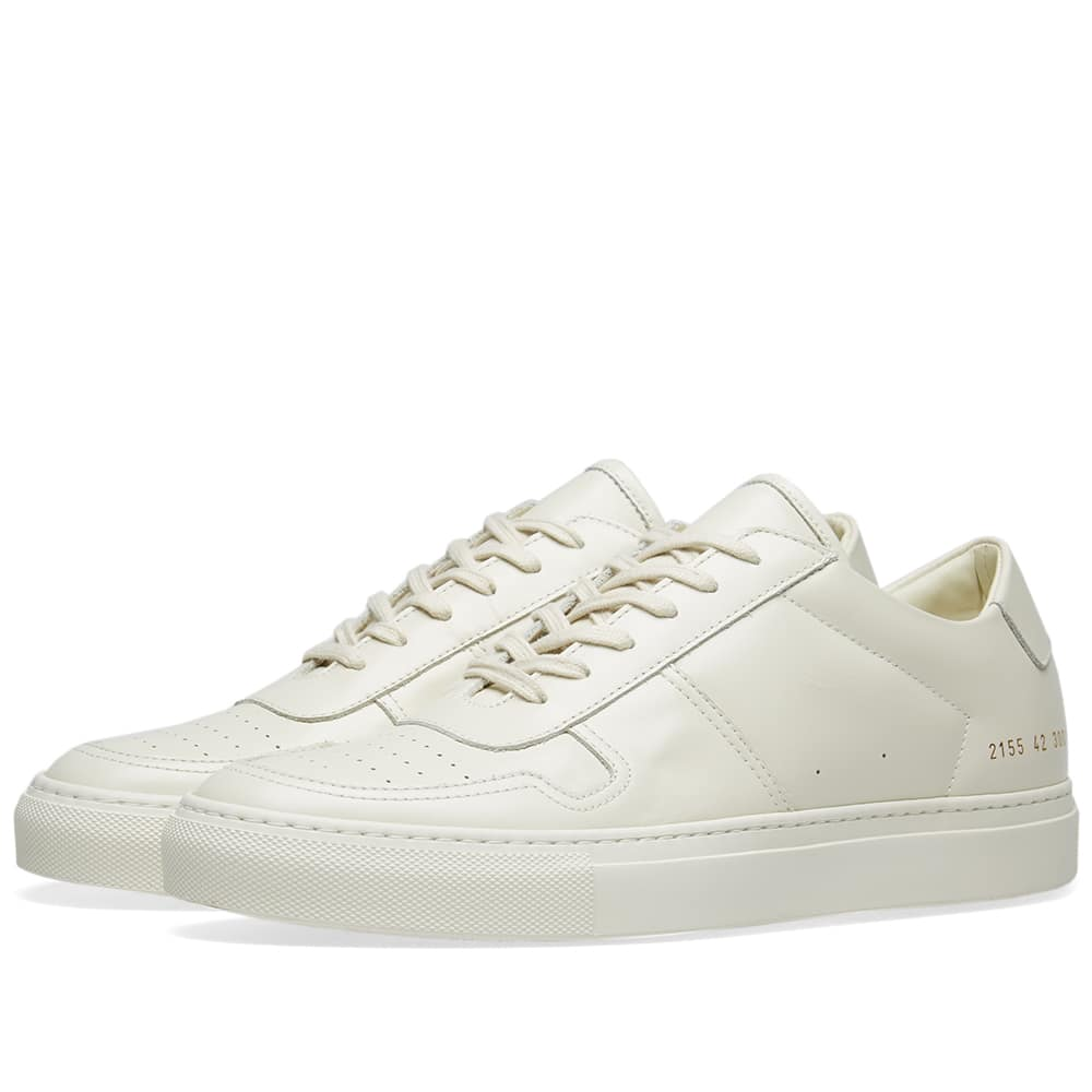Common Projects Warm White B-Ball Low