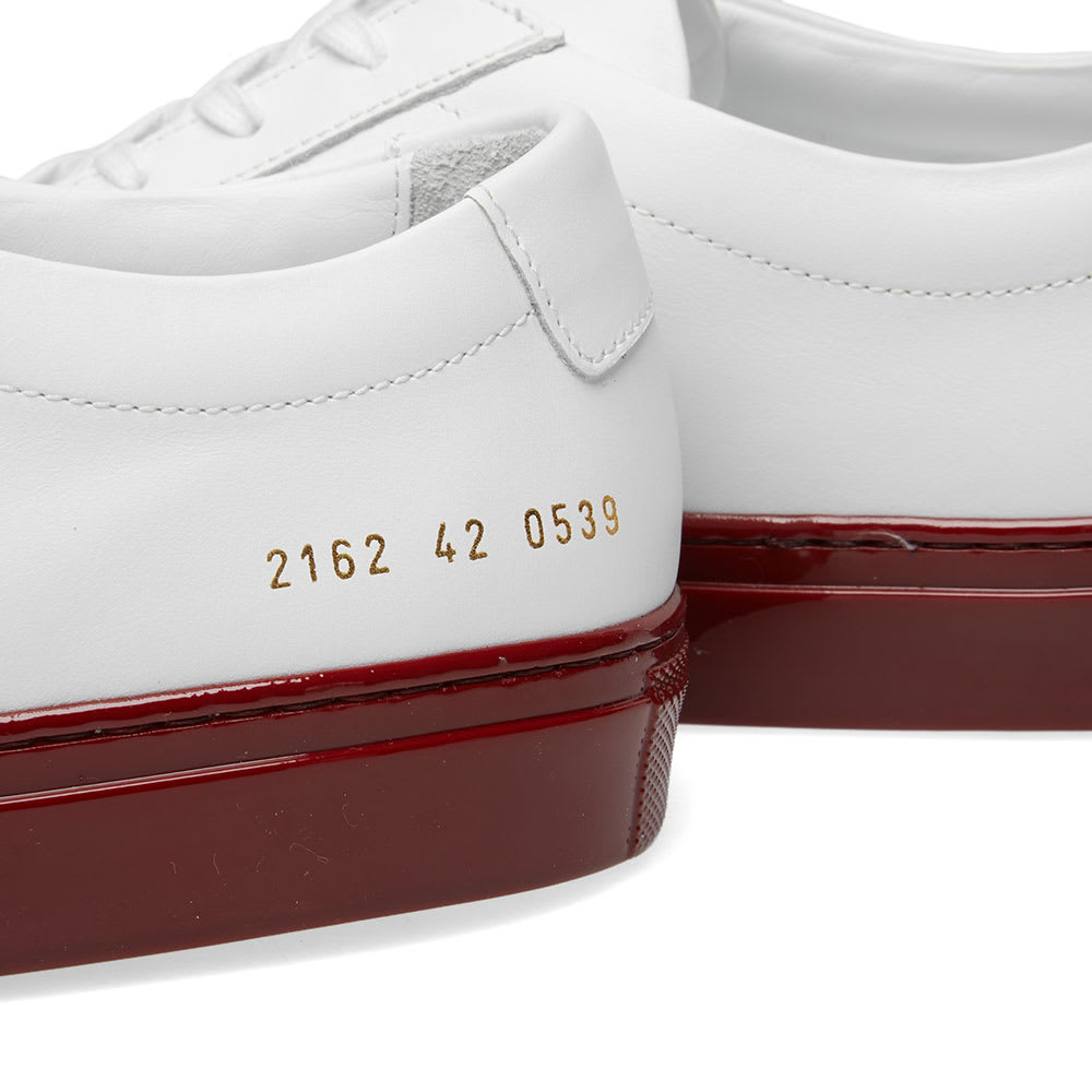 Coloured Shiny Sole by Common Projects
