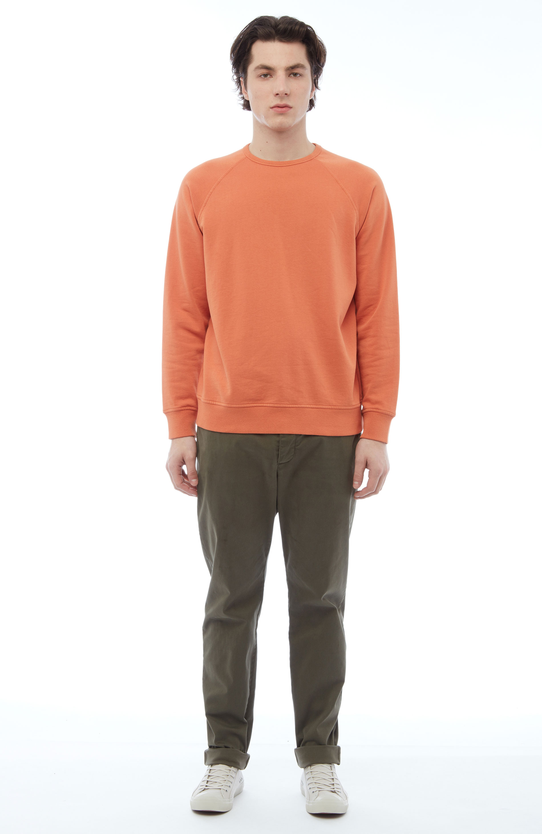 YMC Schrank Raglan Sweat (rust)