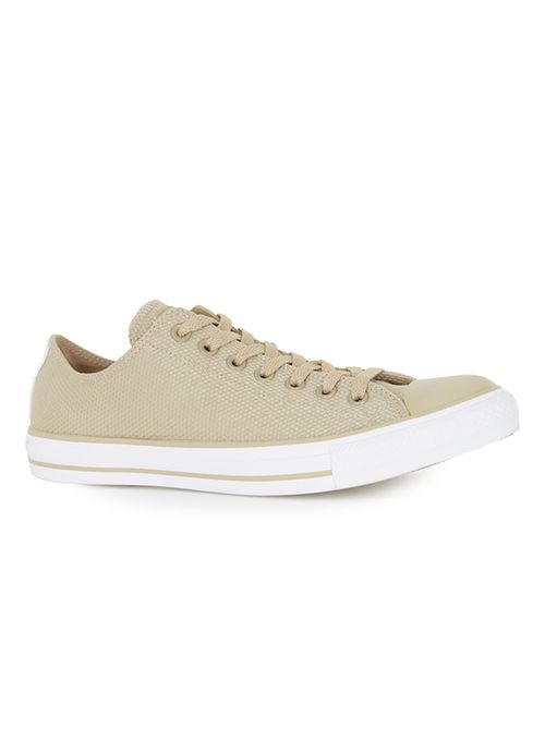Green Converse khaki ox trainers