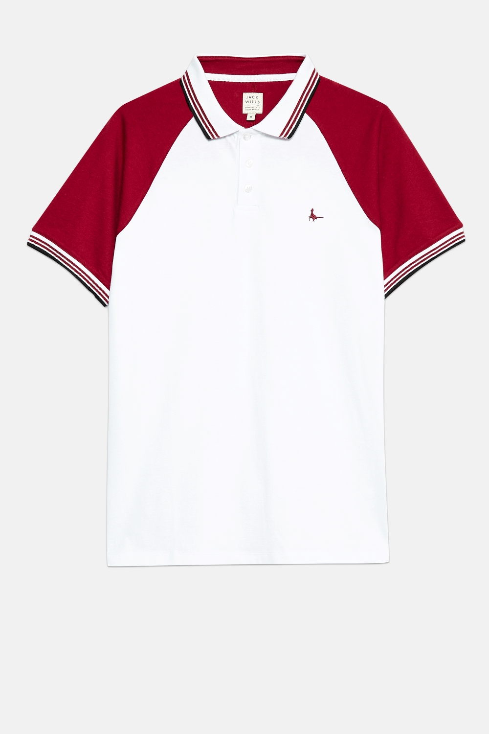 Jack Wills White NOTTINGTON POLO