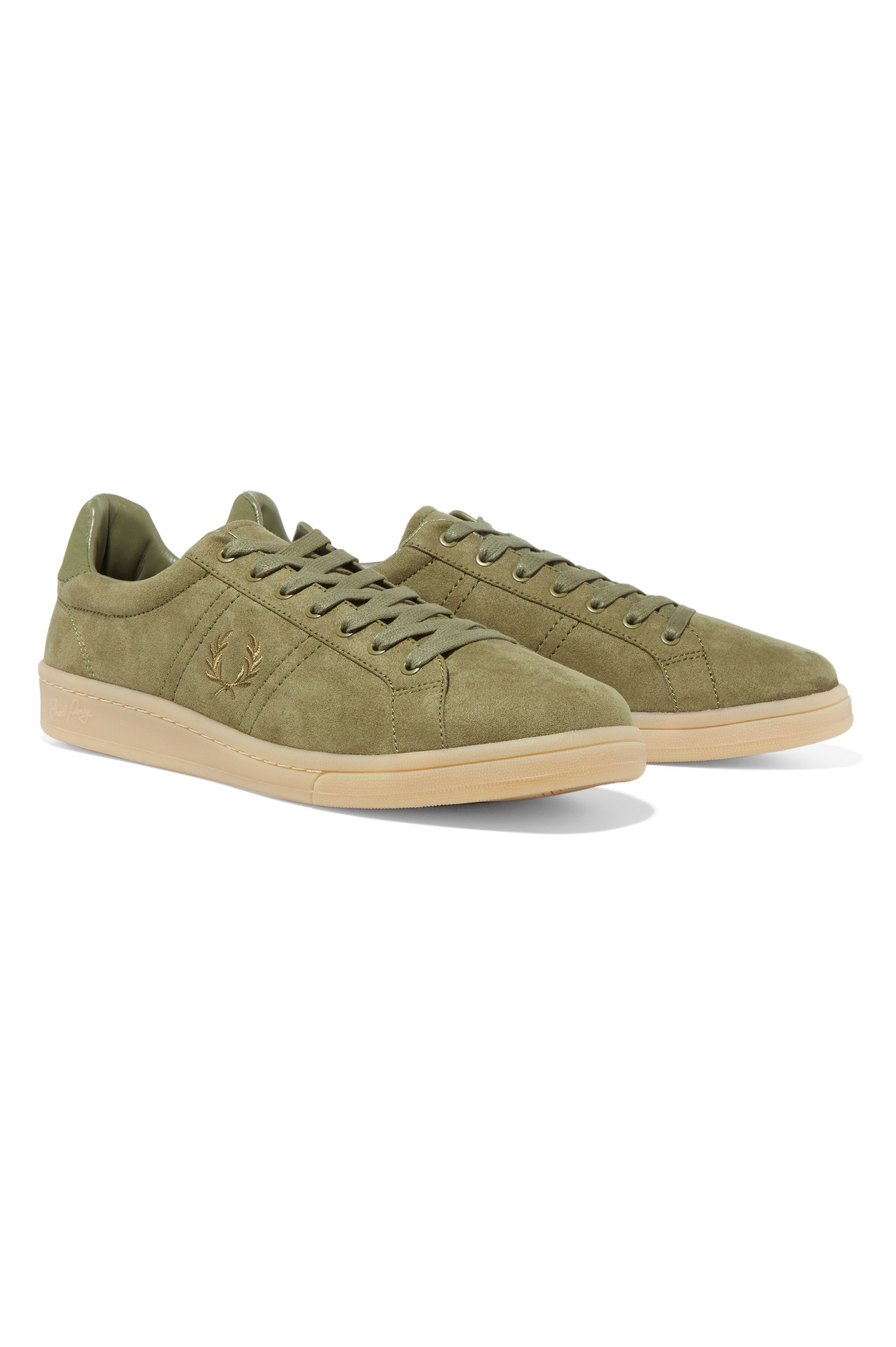 Fred Perry Burnt Olive B721 Microfibre