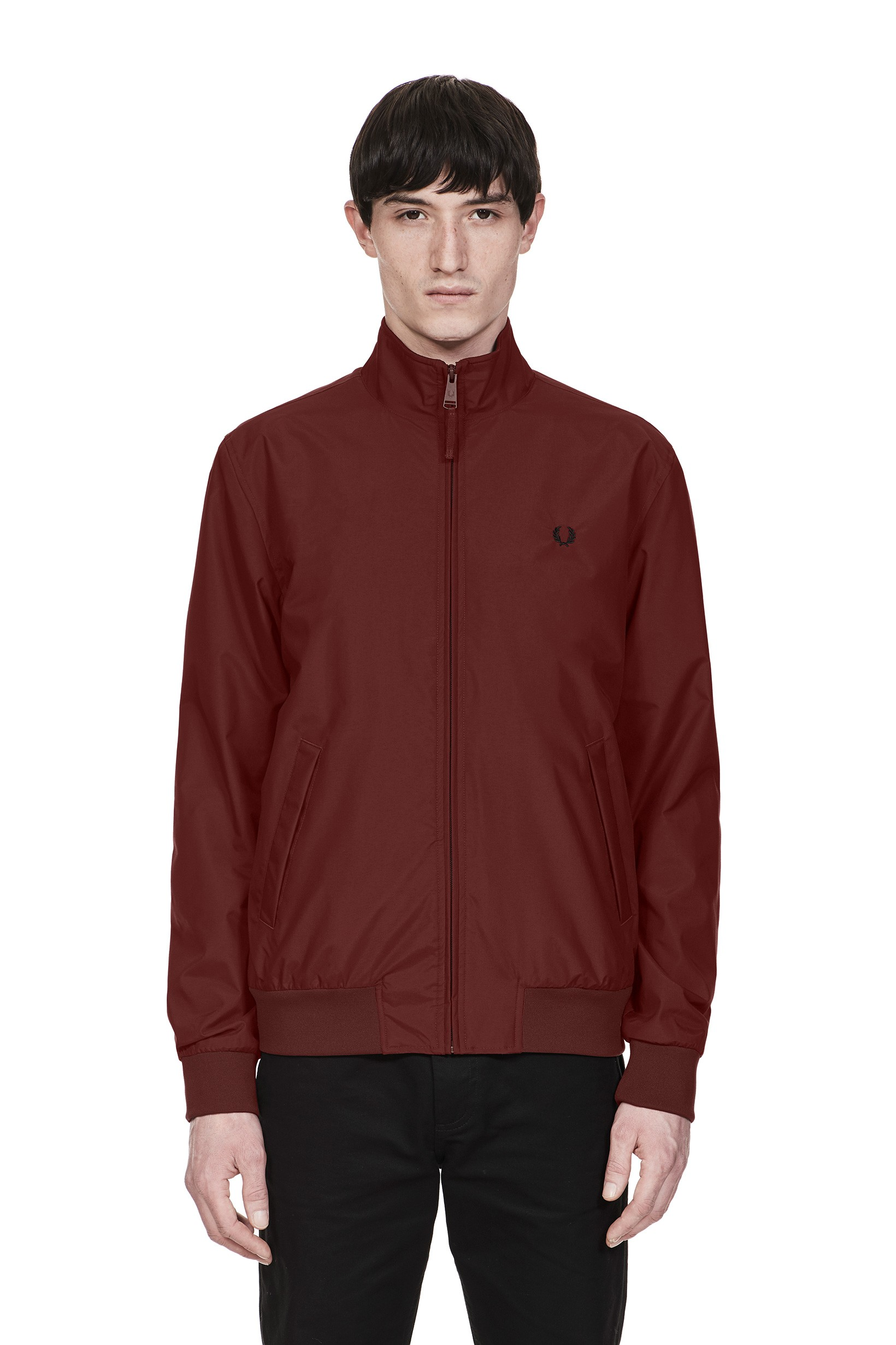 Fred Perry Stadium Red Brentham Jacket