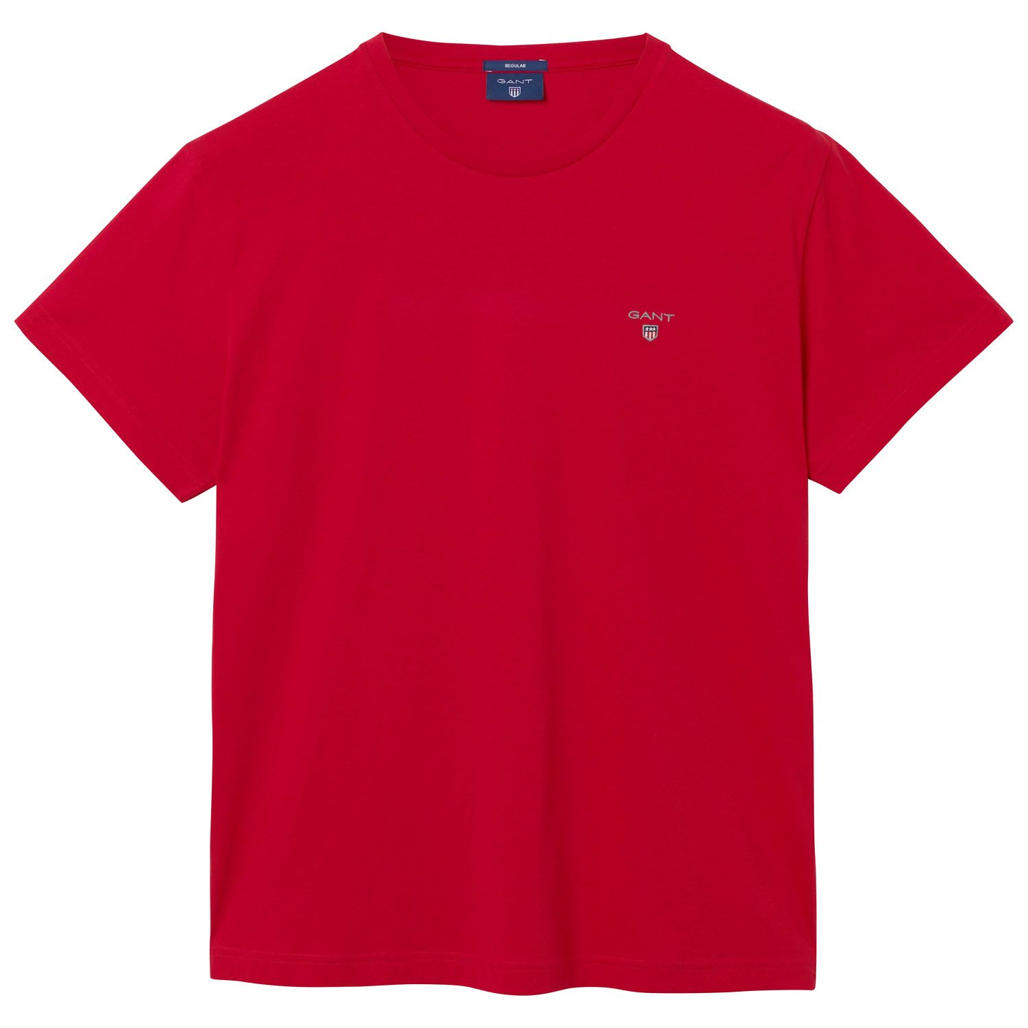 GANT Bright Red Solid T-Shirt