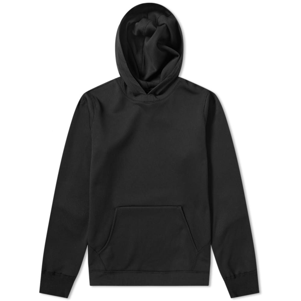 Reigning Champ Black Bonded Pullover Tech Hoody