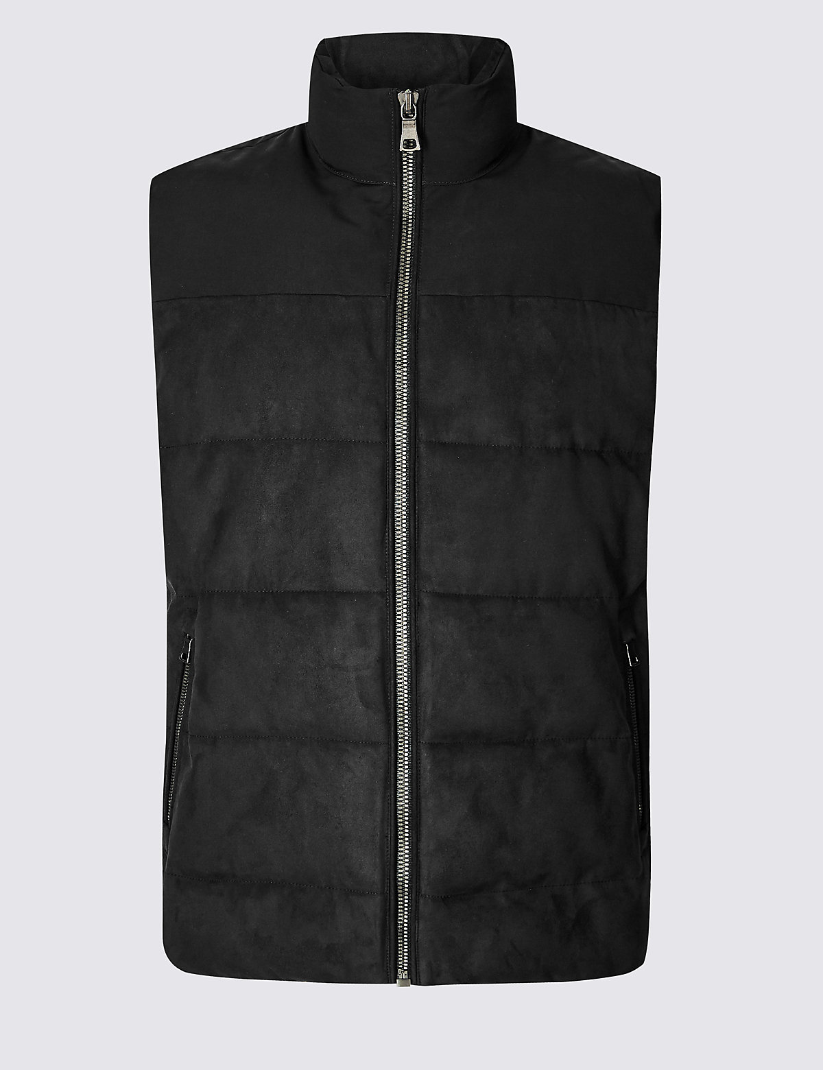 Marks & Spencer Navy Quilted Gilet with Stormwear™