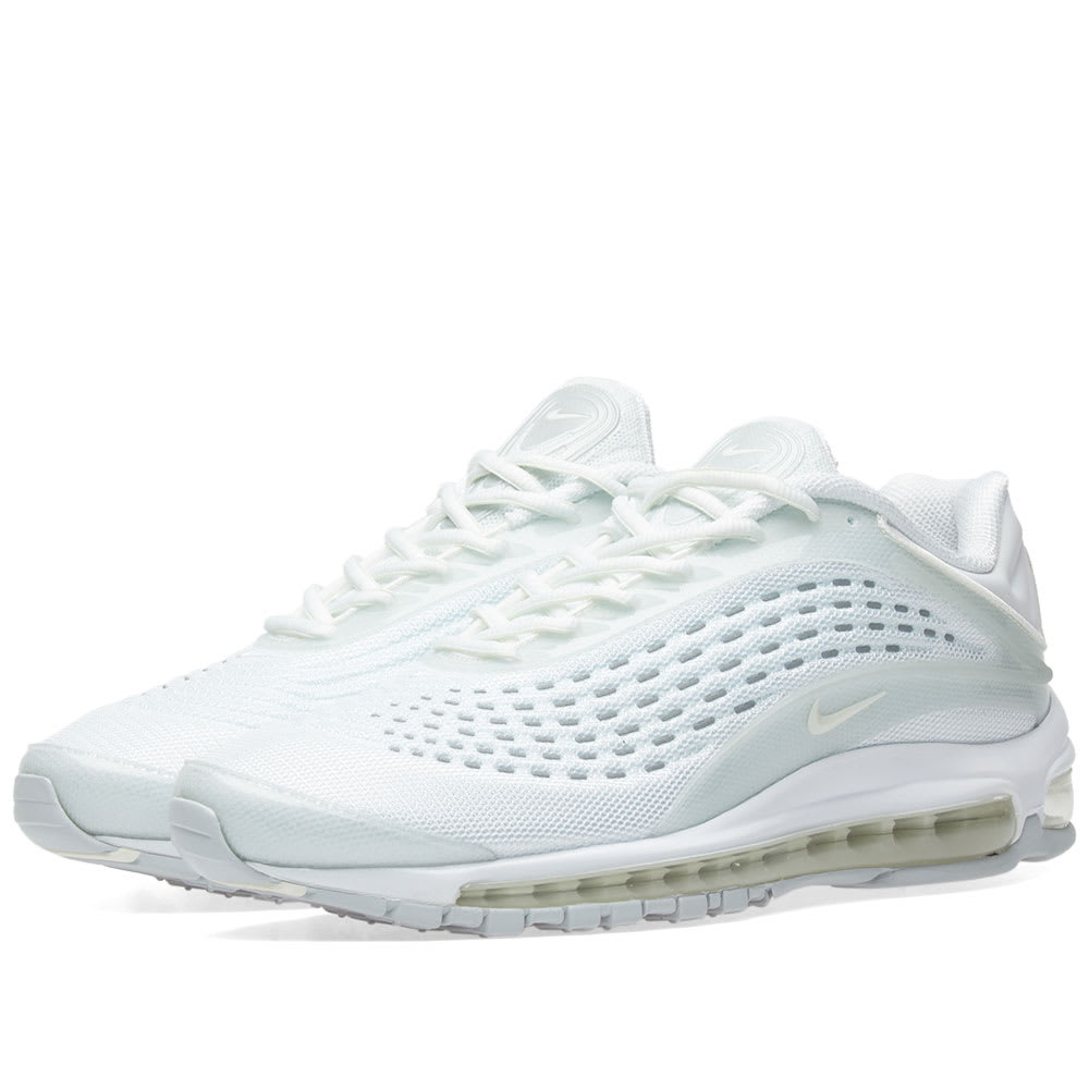 Nike White, Sail & Platinum Air Max Deluxe