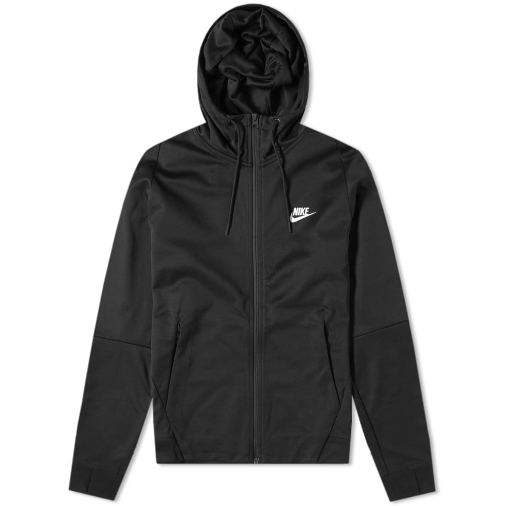 Nike Black & White Tribute Hooded Jacket