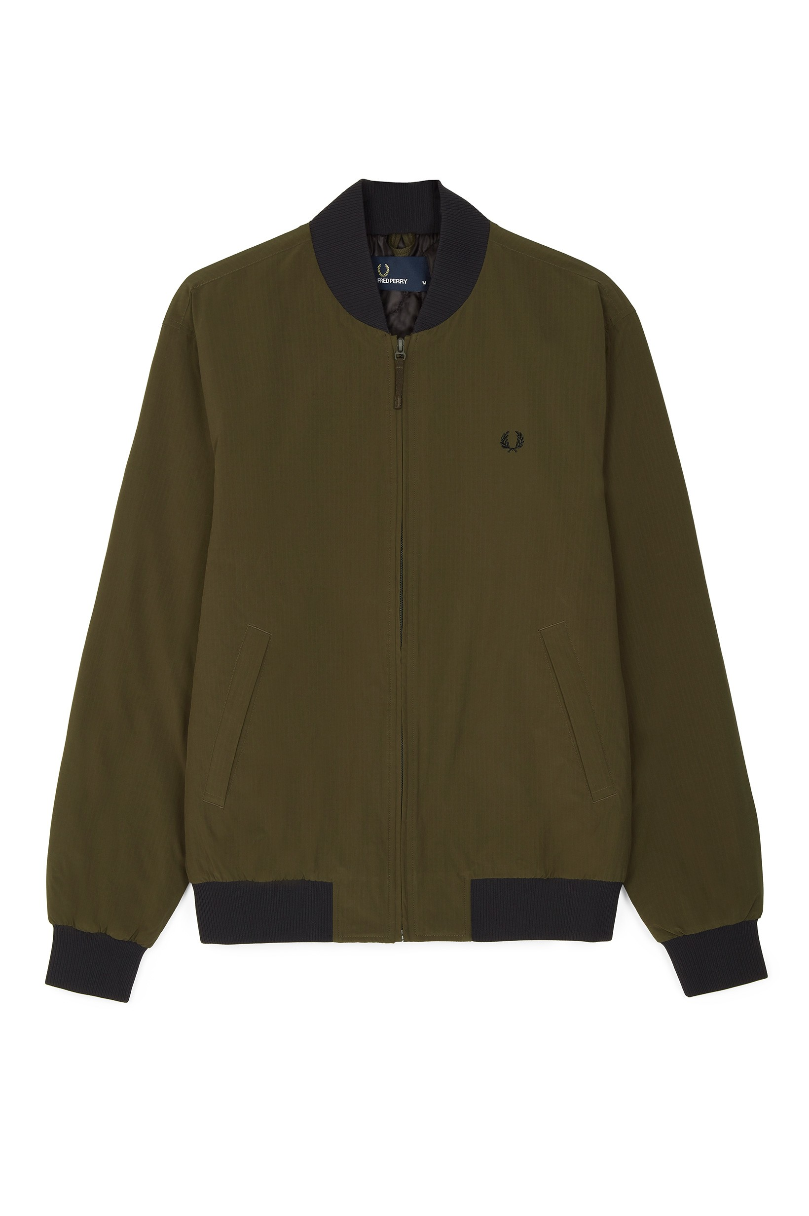 Fred Perry Dark Thorn Ripstop Bomber Jacket
