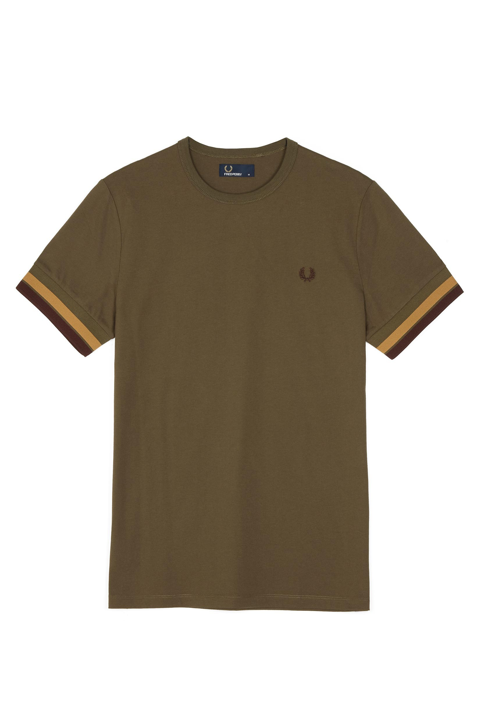 Fred Perry Iris Leaf Bold Tipped T-Shirt