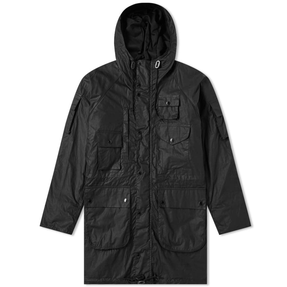 Barbour Black x Engineered Garments Zip Parka