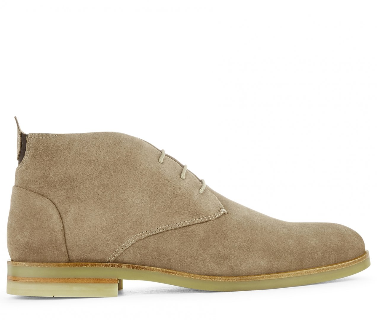 Hudson Shoes Taupe Suede Bedlington Suede Taupe Boot