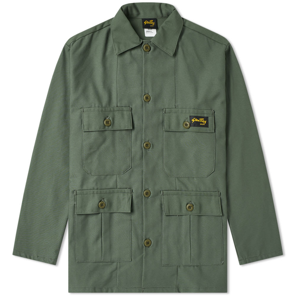 Stan Ray Olive Sateen Four Pocket Jacket