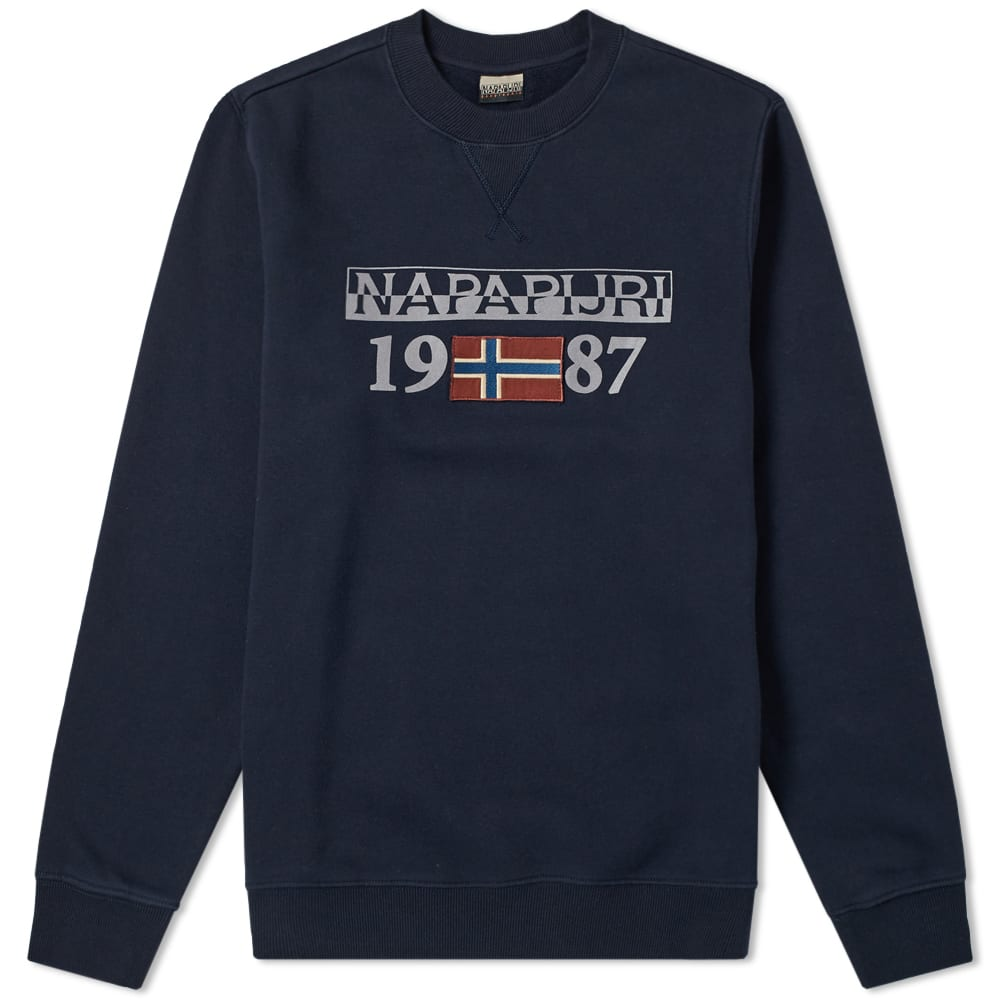 Napapijri Navy Berthow Crew Sweat
