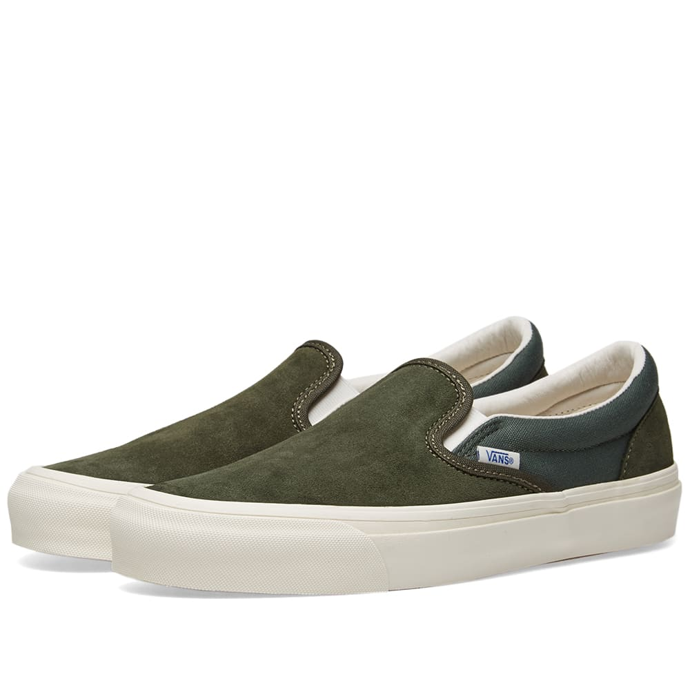 Vans Forest Night & Cilantro Classic Slip On LX