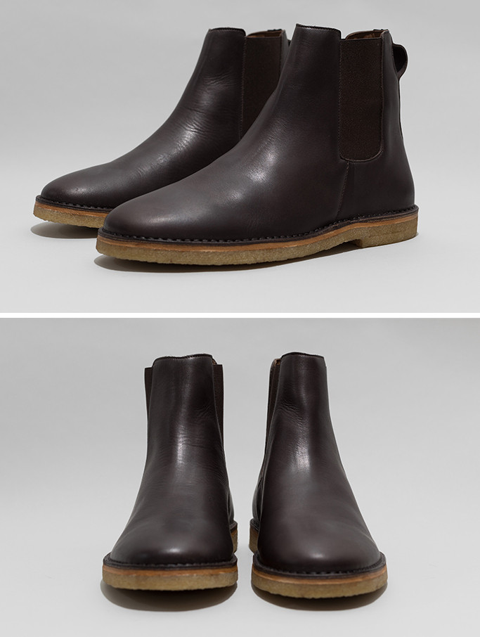 Folk Chelsea Boot - Chocolate