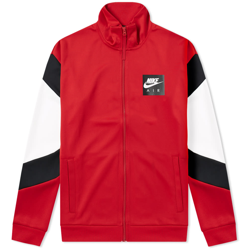Nike Gym Red, Black & White Air Jacket