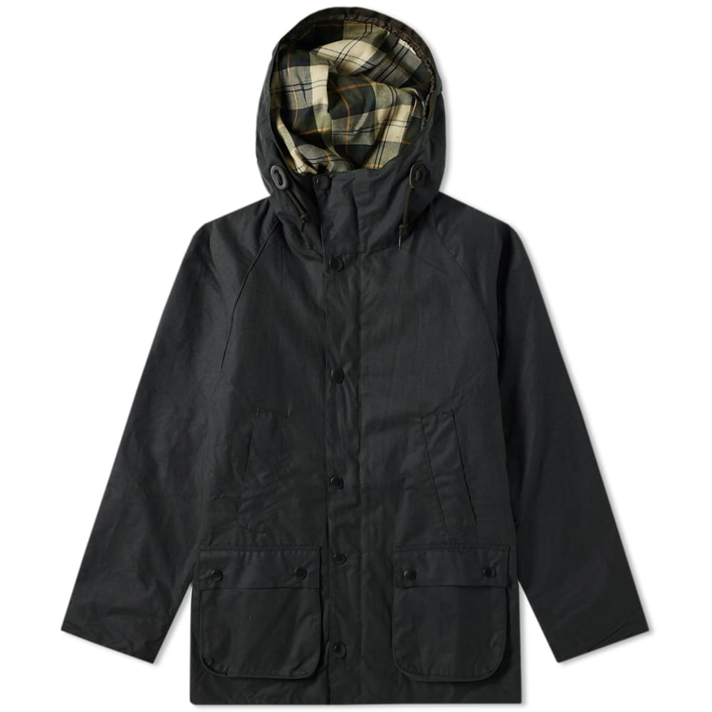 Barbour Sage SL Bedale Hooded Wax Jacket - Japan Collection