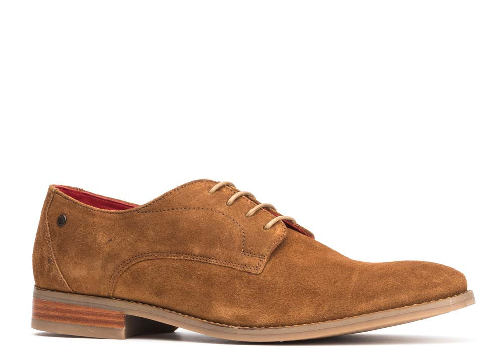 Base London Cognac Ivy Suede