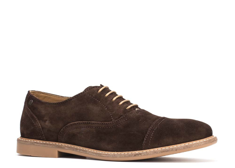 Base London Brown Marston Suede
