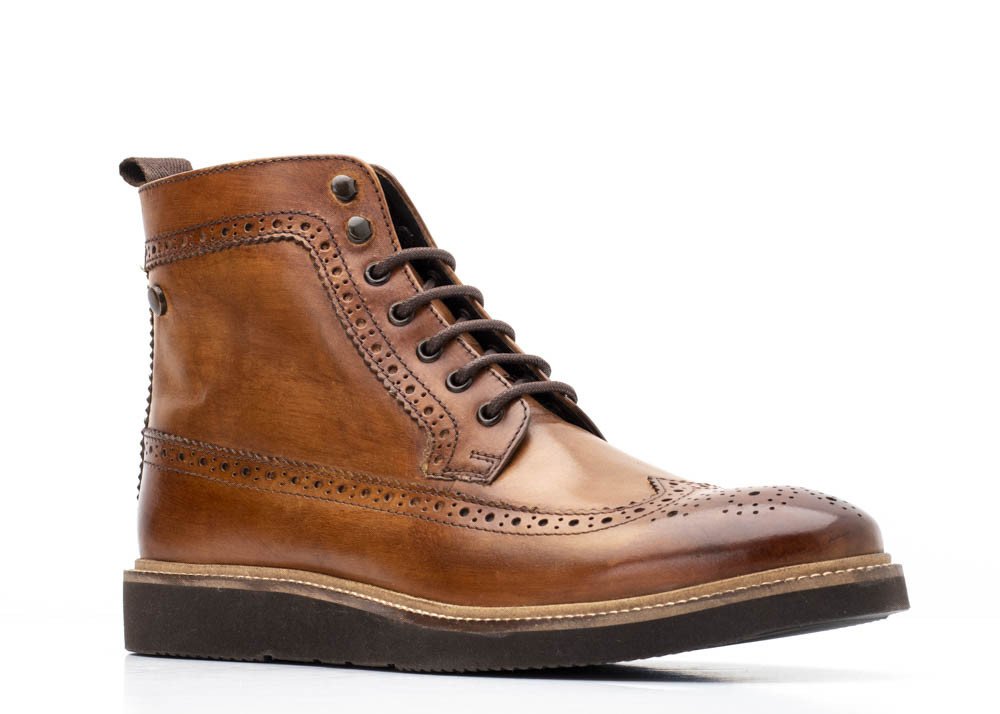 Base London Tan Nebula Washed