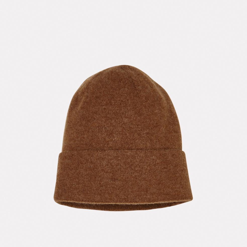Ally Capellino Lambswool Hat in Cinnamon