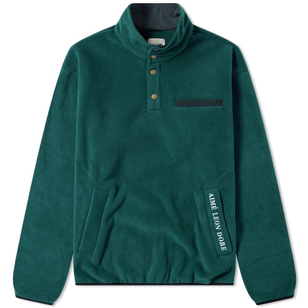 Aime Leon Dore Green Polar Fleece