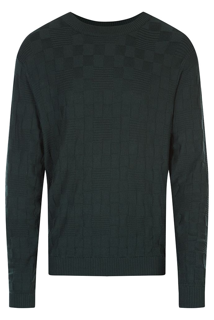 HYMN Walnut Square Texture Jumper