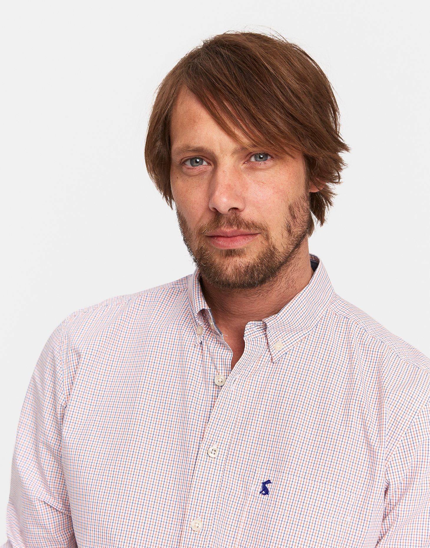 Joules Picante Mini Check HENSLEY SLIM FIT Checked Shirt
