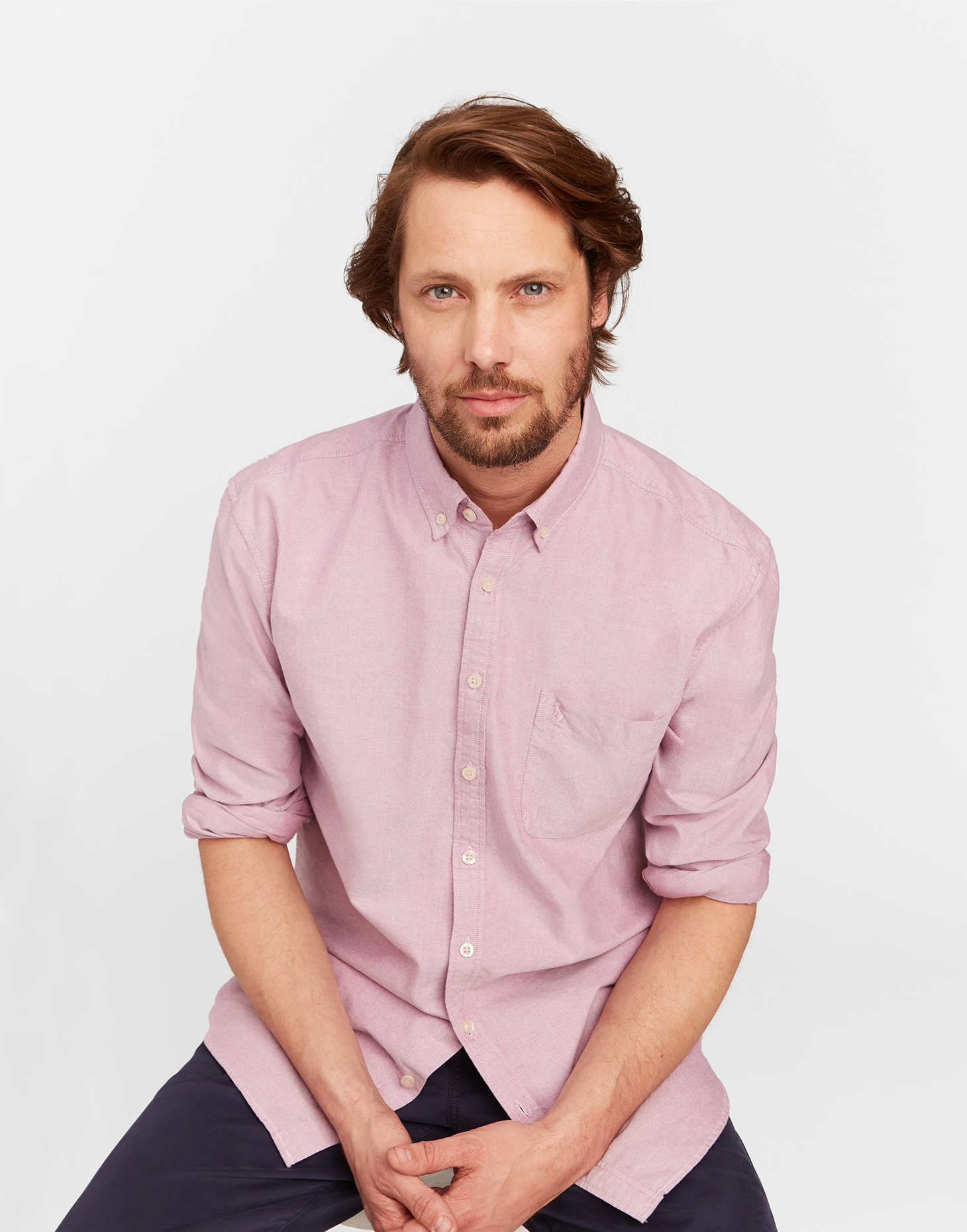 Joules Rock Rose THE LAUNDERED OXFORD Classic Fit Shirt