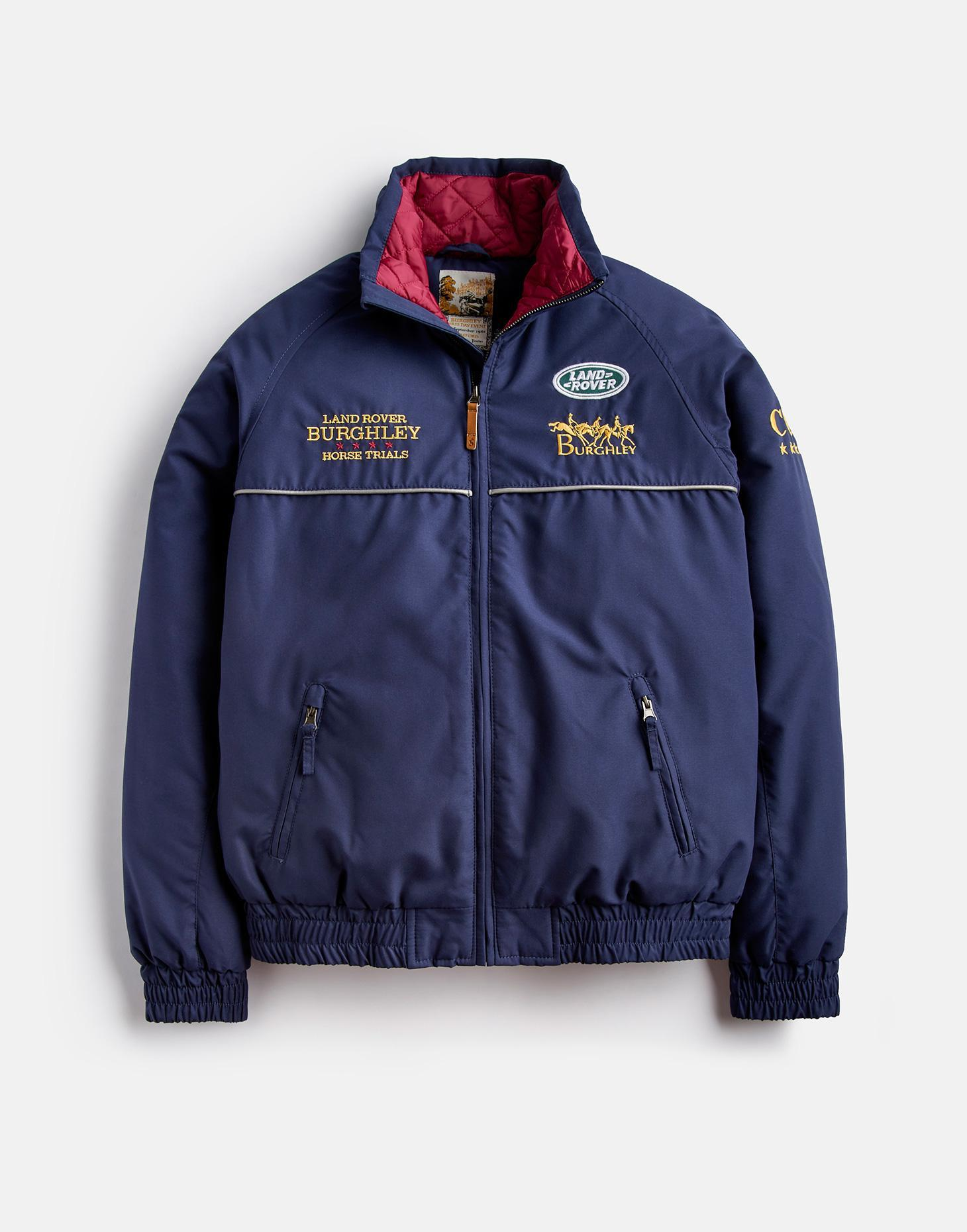 Joules French Navy OFFICIAL BURGHLEY 2018 JACKET