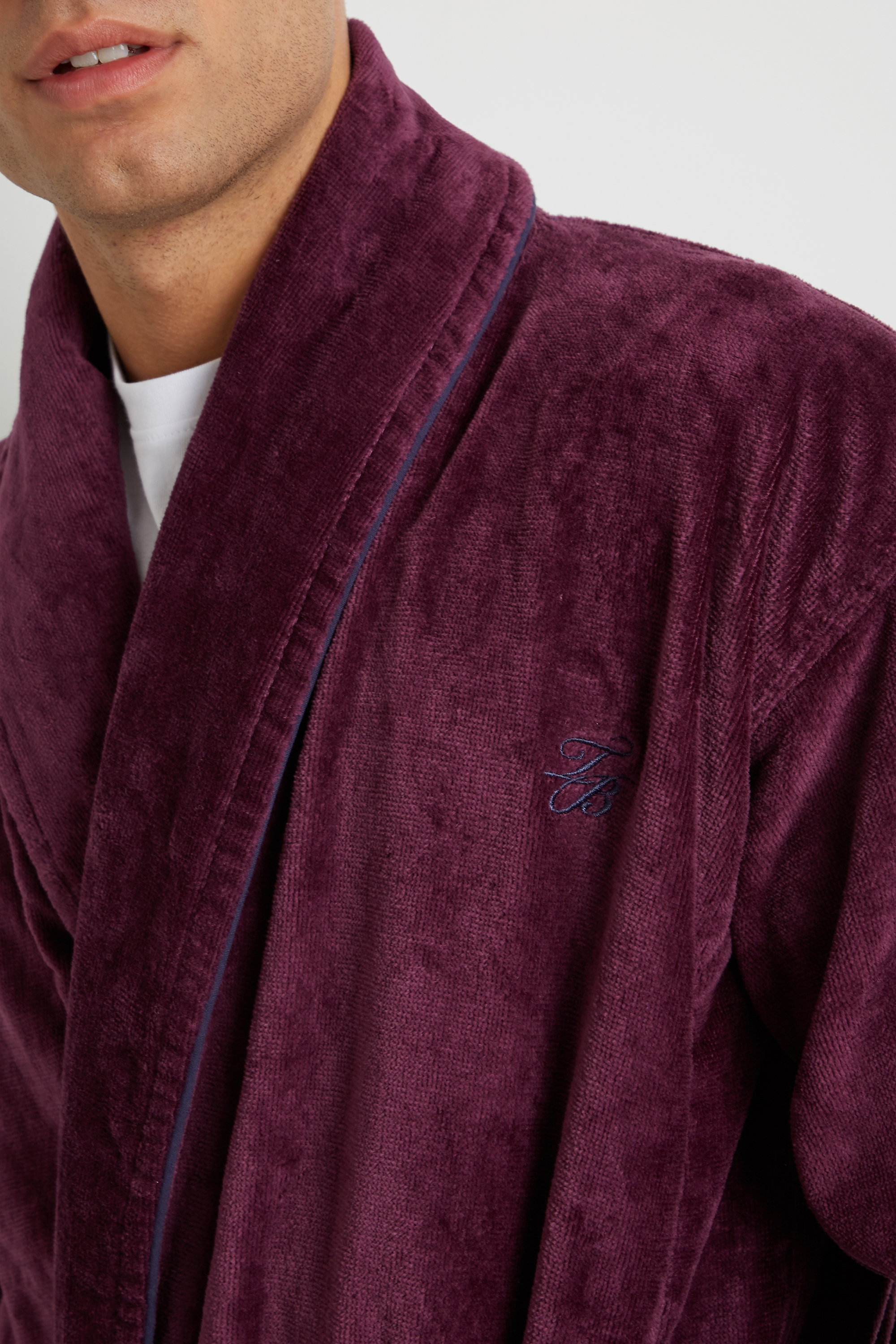 a64be14b8536e8 Dawlish Plum Dressing Gown by Ted Baker — Thread