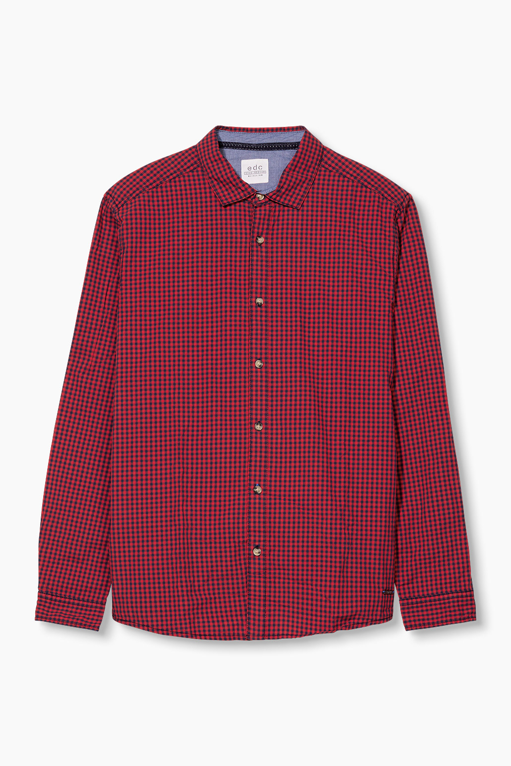 Red Esprit Vichy shirt